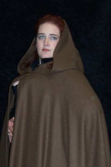 Full Length Wool Blend Cloak - Choose your color! - Click Image to Close